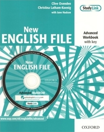 New English File Advanced Workbook with key - Oxenden Clive
