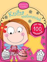 Kniha mažovaniek Cukrová víla Kamilka