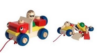 Montážní auto mrkací