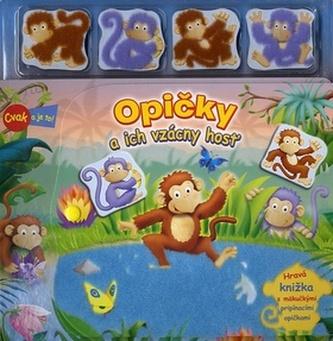 Opičky a ich vzácny hosť