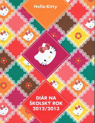Hello Kitty Diár na školský rok 2012/2013