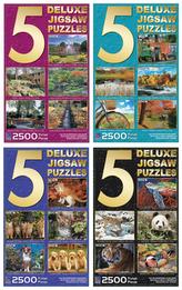 Puzzle multipack 5 v 1