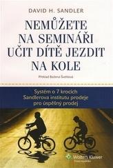 Nemůžete na semináři učit dítě jezdit na kole