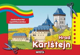 Hrad Karlštejn - Jednoduchá vystřihovánka