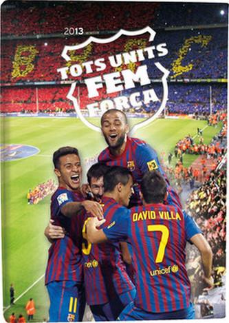 Diář B6 Lyra denní FC Barcelona 2013