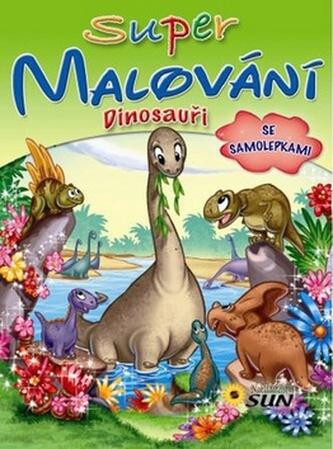 Super malování Dinosauři