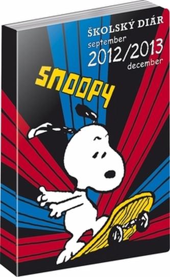 Snoopy Školský diár 2012-2013