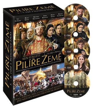Pilíře země 1.- 4. část - DVD (+bonusy) - 2. vydání