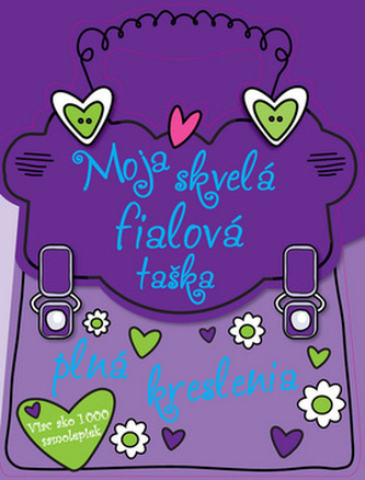 Moja skvelá fialová taška plná kreslenia
