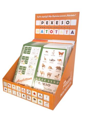 Pexeso Natotata stojan včetně naplnění