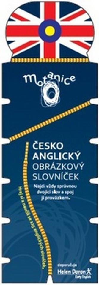 Motanice Česko-anglický obrázkový slovníček