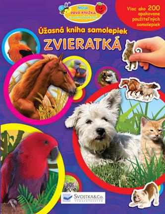 Úžasná kniha samolepiek Zvieratká
