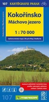 Kokořínsko, Máchovo jezero 1:70 000