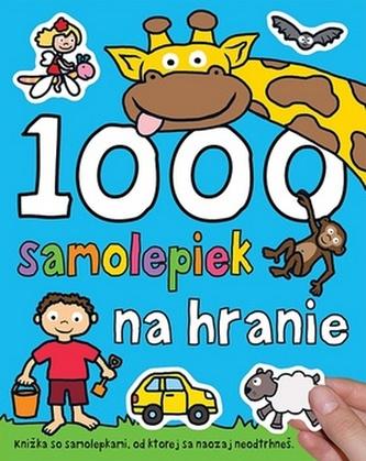 1000 samolepiek na hranie