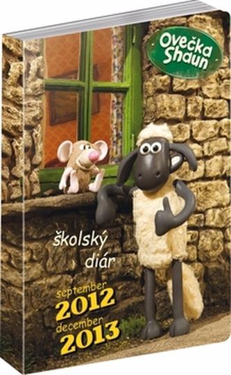 Ovečka Shaun Školský diár 2012-2013