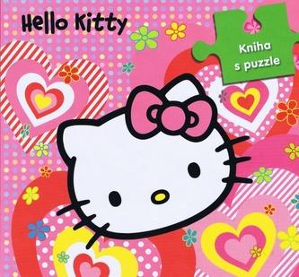 Hello Kitty Kniha s puzzle