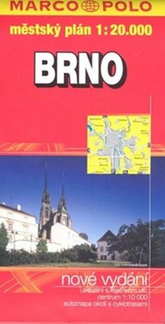 Brno - plán měkká obálka    PS 1:20 000