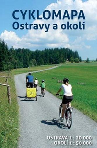 Cyklomapa Ostravy a okolí