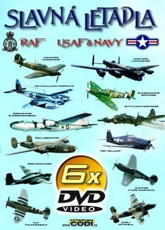 Slavná letadla 6 DVD