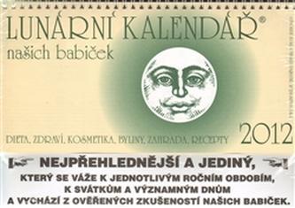 Pátý rok s měsícem Lunární kalendář 2012