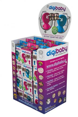 Digibaby stojan na 36 krabiček