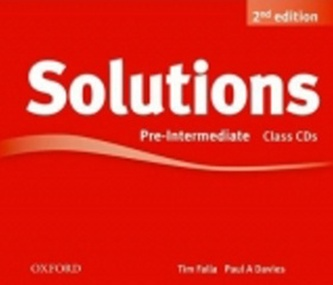 Maturita Solutions 2nd Edition Pre-Intermediate Class Audio Cds - Tim Falla; P.A. Davies