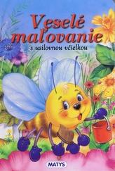 Veselé mažovanie s usilovnou včielkou