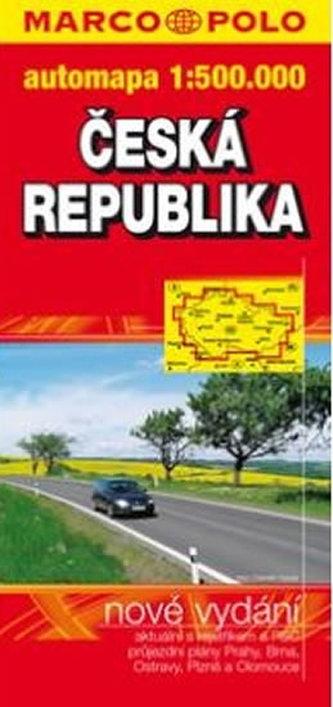 Česka republika 1:500 000