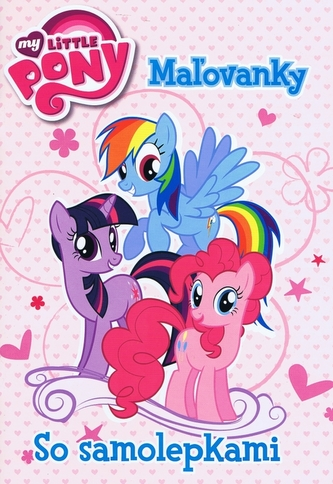 My Little Pony Mažovanky so samolepkami