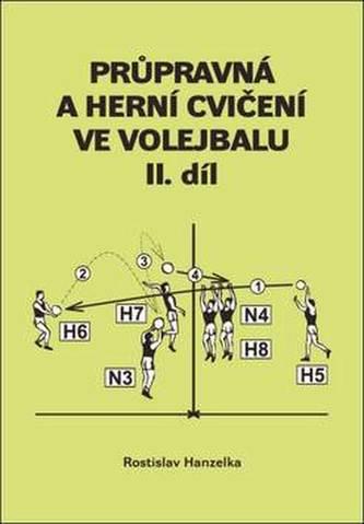 Průpravná a herní cvičení ve volejbalu II. - Rostislav Hanzelka