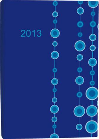 Diář A5 Simple denní 2013