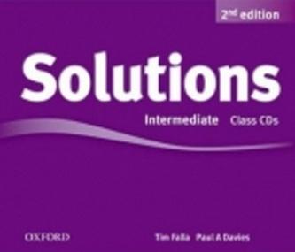 Maturita Solutions 2nd Edition Intermediate Class Audio Cds