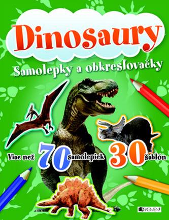 Dinosaury Samolepky a obkresľovačky