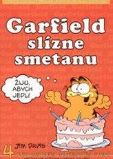 Garfield slízne smetanu - 4. kniha sebraných garfieldových stripů - 3. vydání