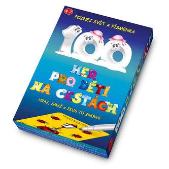 100 her pro děti na cestách - Hraj, smaž a zkus to znovu! - 2. vydání