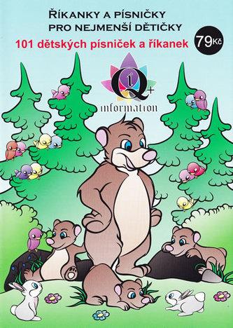 Říkanky a písničky pro nejmenší dětičky - 101 dětských písniček a říkanek - CD