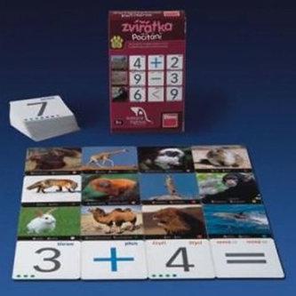 Naučné pexeso - Zvířata - Počítání
