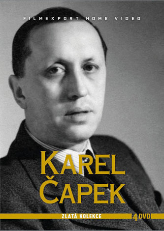 Karel Čapek - Zlatá kolekce - 4DVD