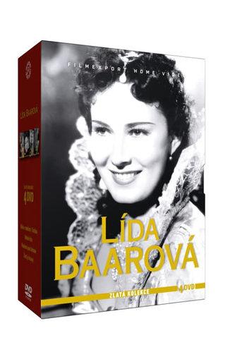 Lída Baarová - Zlatá kolekce - 4DVD