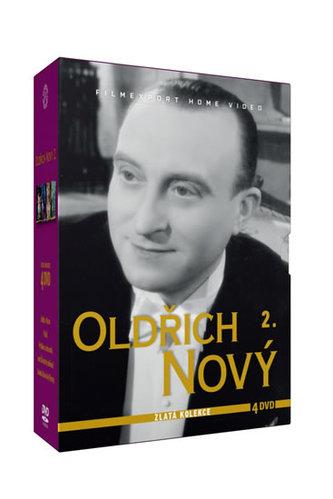Oldřich Nový 2. - Zlatá kolekce - 4DVD