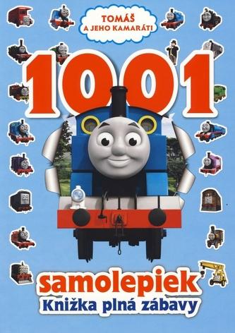 Tomáš a jeho kamaráti 1001 samolepiek
