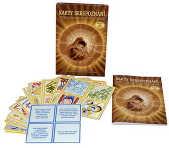 Karty sebepoznání aneb co mi sděluje duše a Vesmír (kniha + 24 karet) - 2. vydání