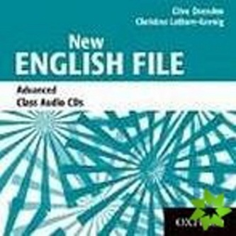New English File Advanced Class Audio CDs /3/ - Oxenden Clive