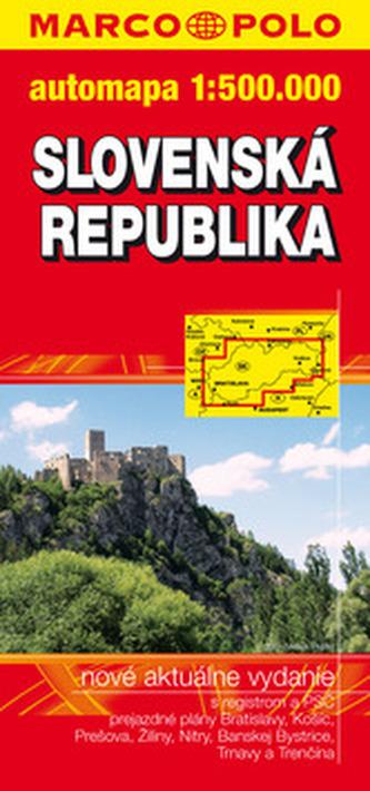 Slovenská republika 1:500 000