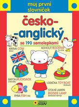 Můj první samolepkový slovníček česko-anglický