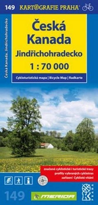 Česká Kanada, Jindřichohradecko 1:70 000