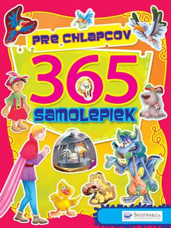 365 samolepiek pre chlapcov