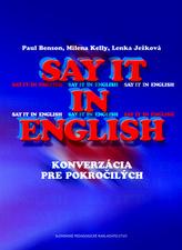 Say it in English