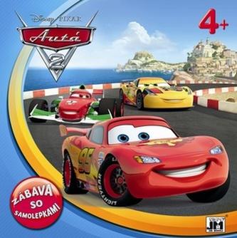 Disney Autá 2 Zábava so samolepkami