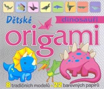Dinosauři Dětské origami